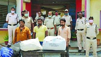 नशे के 3 सौदागर गिरफ्तार