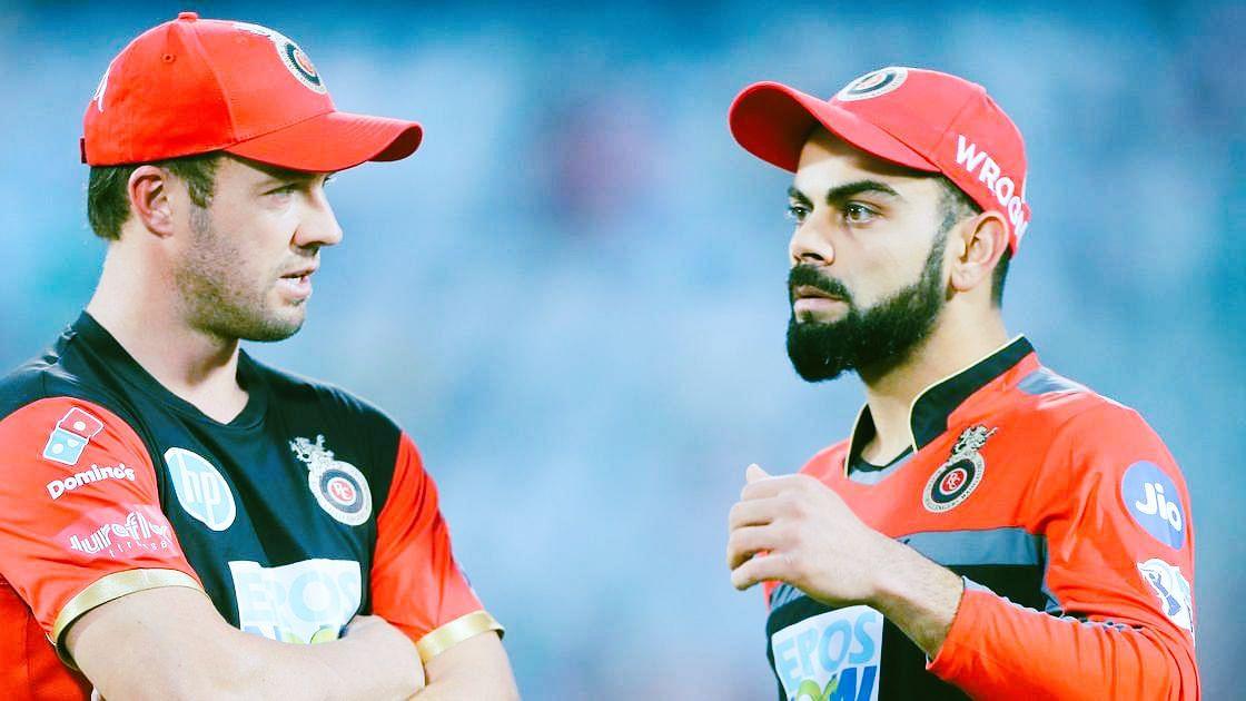 IPL: विराट कोहली के नेतृत्व से खुश एबी डिविलियर्स ने कही यह बात