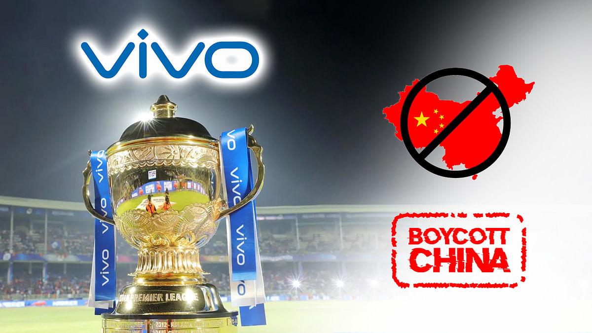 निलंबन के बावजूद IPL में मुफ्त मिल रहा चीनी कंपनी को प्रचार