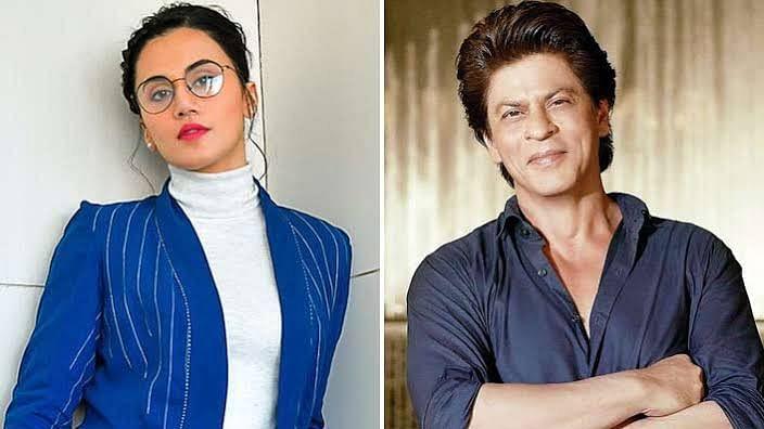 शाहरुख खान के साथ रोमांस करती दिखेंगी तापसी पन्नू