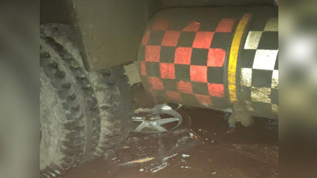 भोपाल : राजधानी में बड़ा सड़क हादसा, डंपर - बाइक की भिड़ंत में दो की मौत