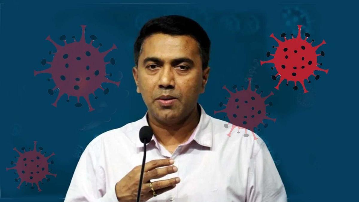 गोवा के CM प्रमोद सावंत कोरोना संक्रमित