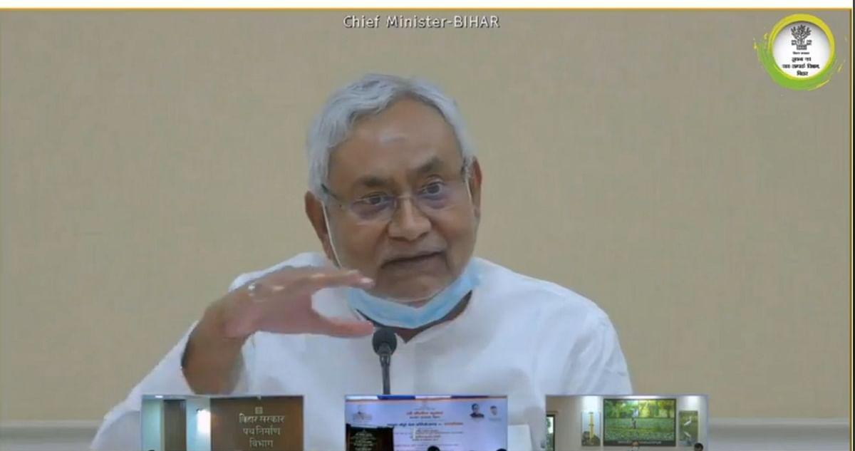 बिहार में CM नीतीश कुमार द्वारा कई योजनाओं का शिलान्यास और उद्घाटन