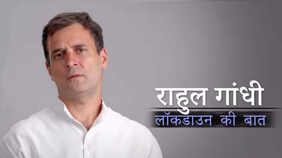 राहुल का मोदी पर वार- लॉकडाउन मजदूर, किसान गरीब, छोटे व्यापारियों पर आक्रमण