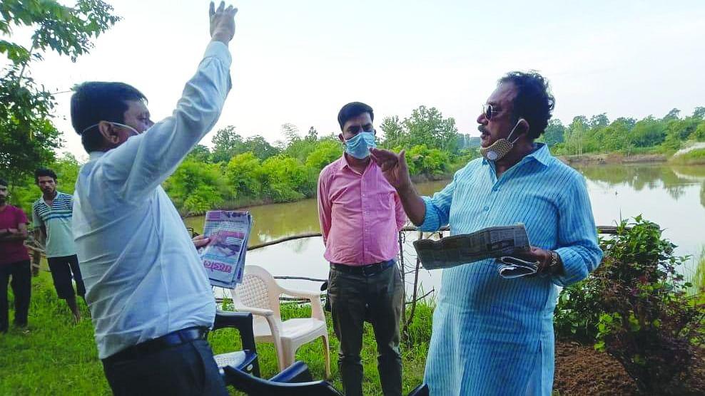 वन मंत्री ने जाजागढ़ अवैध रेत उत्खनन के दिये जांच के आदेश