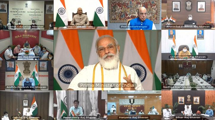 NEP पर गवर्नर कॉन्फ्रेंस में PM मोदी ने शिक्षा नीति को बताया देश की नीति