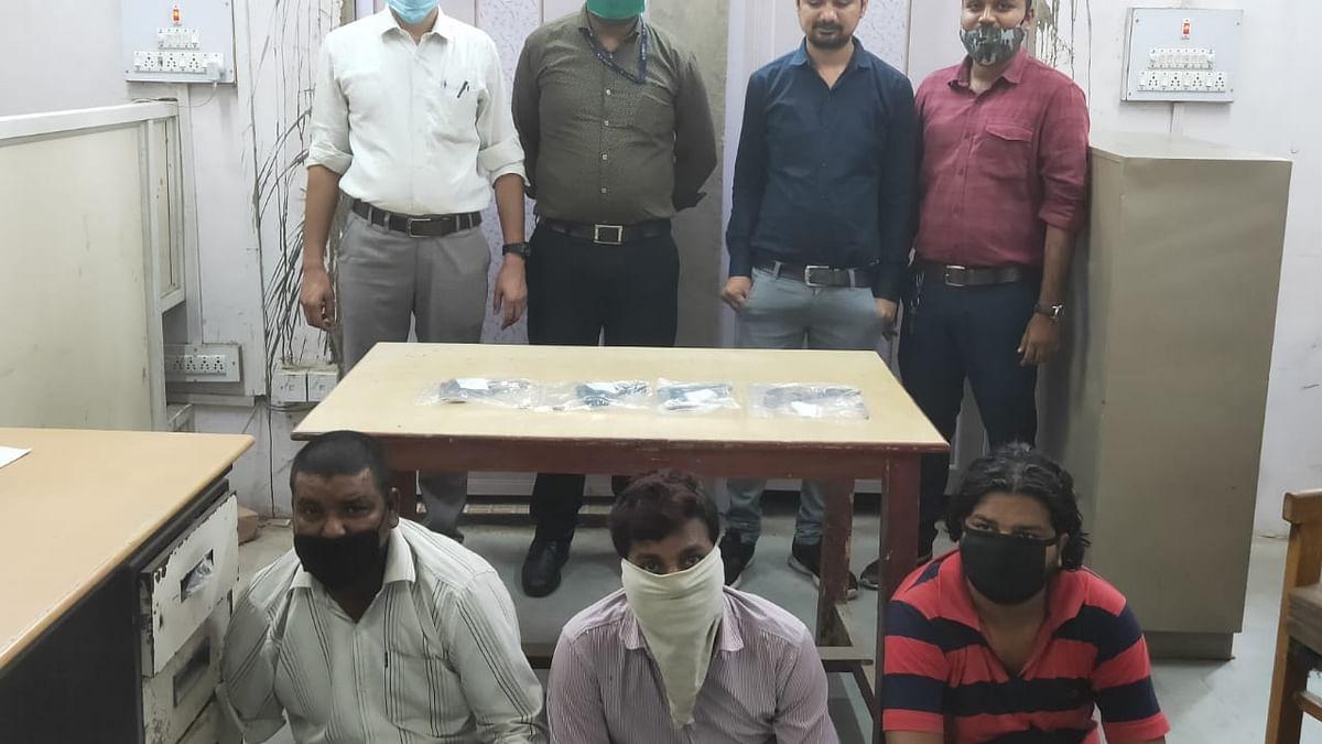अवैध हथियारों की तस्करी पर पुलिस की कार्रवाई, आरोपियों को किया गिरफ्तार