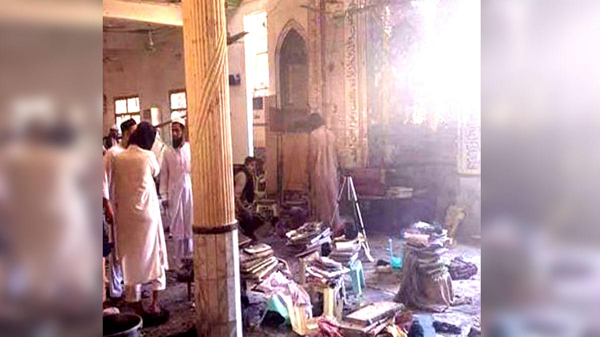 पाकिस्तान : पेशावर के मदरसे में हुआ ब्लास्ट, सात बच्चों की मौत 70 घायल