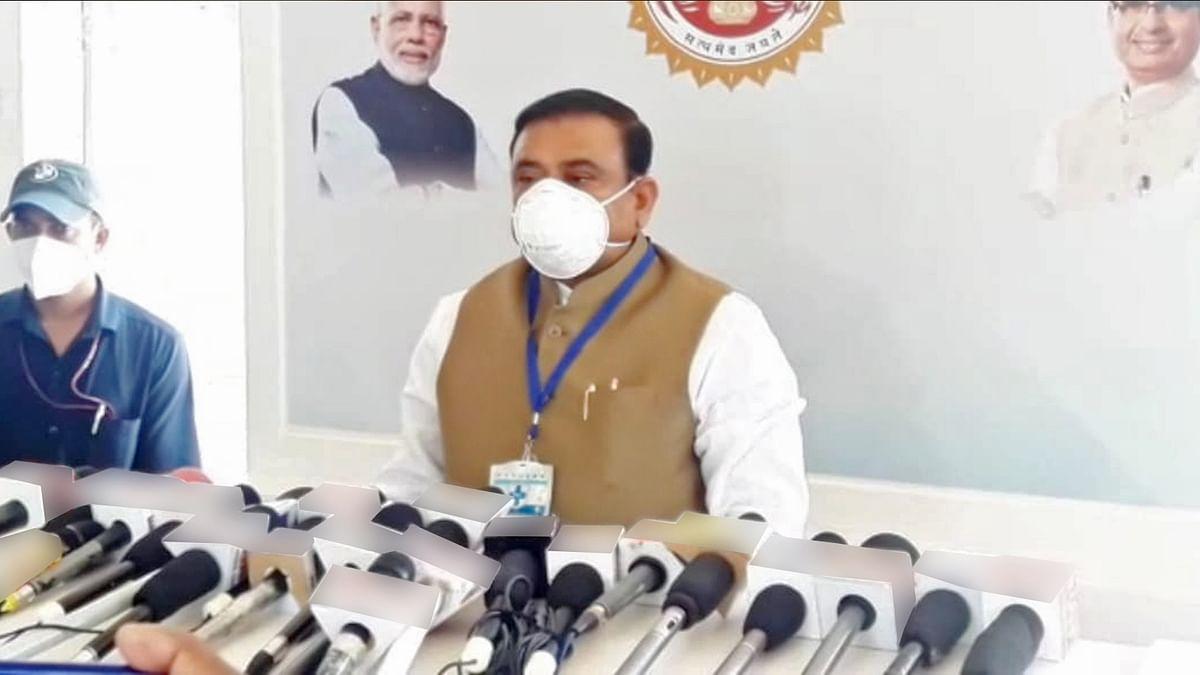 कांफ्रेंस में बोले मंत्री सिंह, अन्य राज्यों से बेहतर है MP की स्थिति