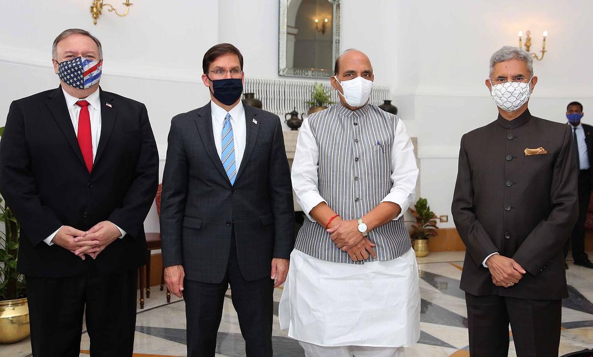 टू प्लस टू वार्ता में भारत-अमेरिका के बीच सैन्य सहयोग को लेकर बड़ा समझौता