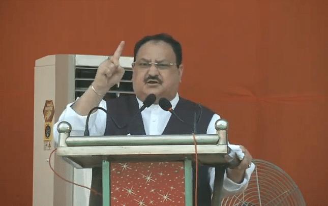 बिहार: चुनावी जनसभा में बोले नड्डा-अब गुंडाराज नहीं, कानून का राज चलेगा