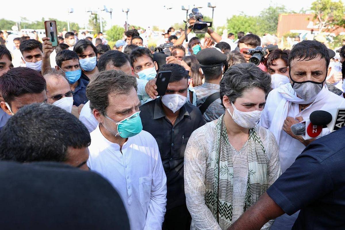 #HathrasHorror: राहुल आज फिर जाएंगे हाथरस, इससे पहले ट्वीट में कही ये बात
