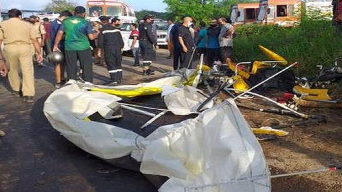 केरल के कोच्चि में ग्लाइडर क्रैश- नौसेना के 2 अधिकारियों की मौत
