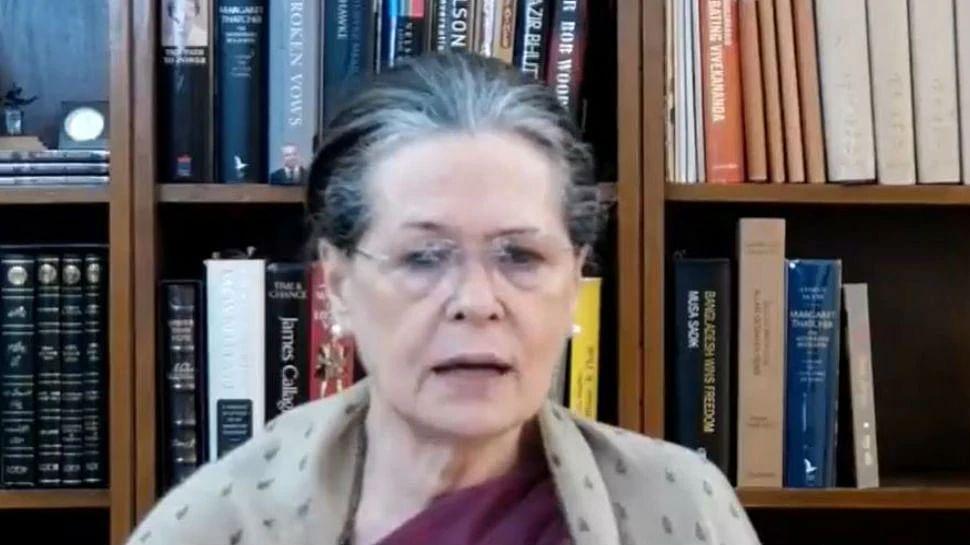 बिहार: पहले चरण की वोटिंग से पहले सोनिया का संदेश-नीतीश सरकार पर जमकर अटैक