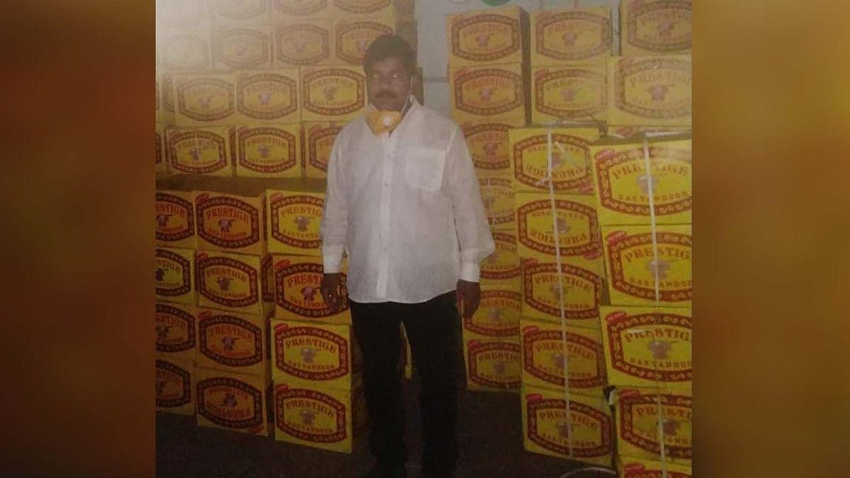 भोपाल : पुलिस की गिरफ्त में प्रेस्टीज कंपनी के नकली ओवन बेचने वाला आरोपी
