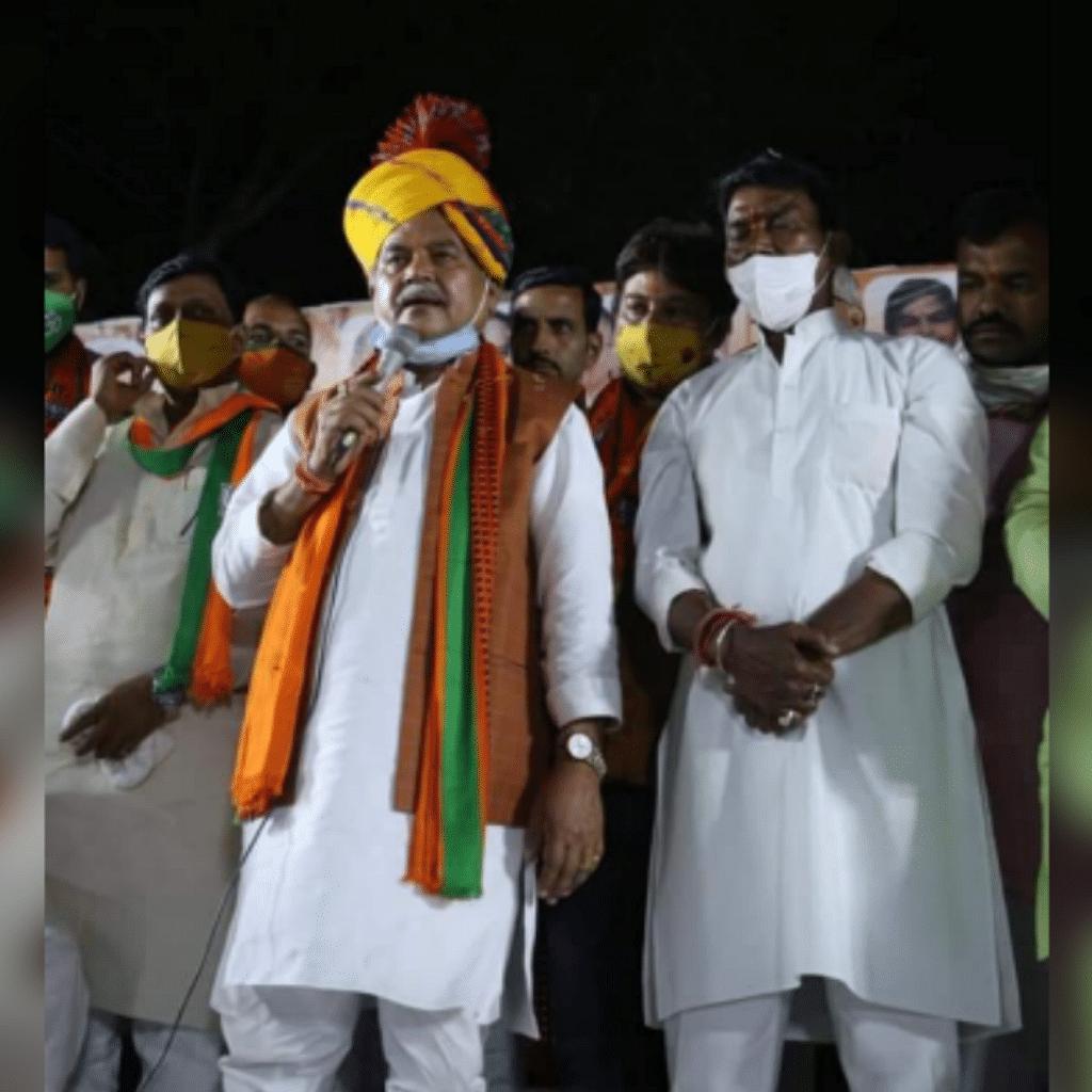 BJP प्रत्याशी सिलावट को लेकर केंद्रीय मंत्री तोमर का बयान, कही ये बात