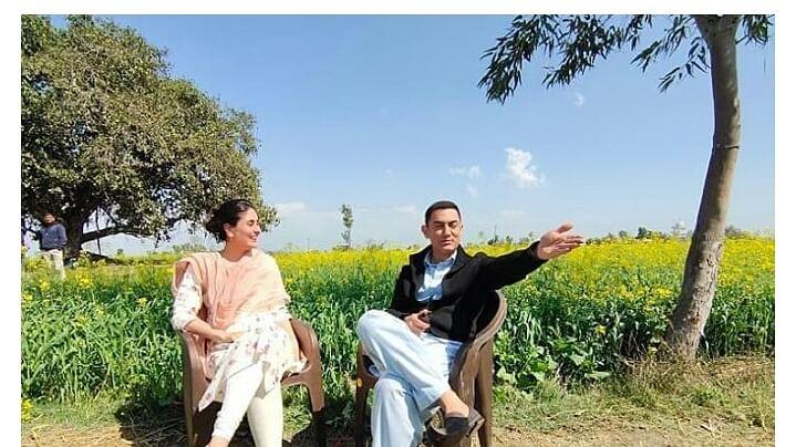 करीना कपूर ने 'लाल सिंह चड्ढा' का शूट किया पूरा, सामने आई तस्वीर