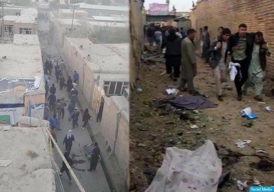 काबुल में आत्मघाती बम हमले में 30 की मौत