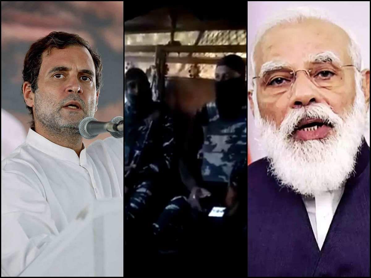 राहुल का तीखा हमला-जवानों को नॉन बुलेटप्रूफ गाड़ी और PM को करोड़ाें का जहाज