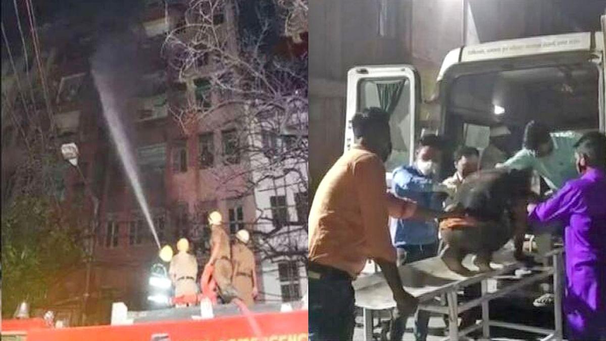 कोलकाता : पांच मंजिला इमारत में आग लगने से 2 की मौत