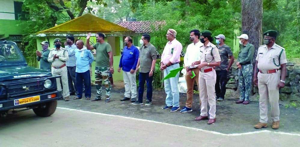उमरिया : बाघों के दीदार के लिए खुले बांधवगढ़ के गेट