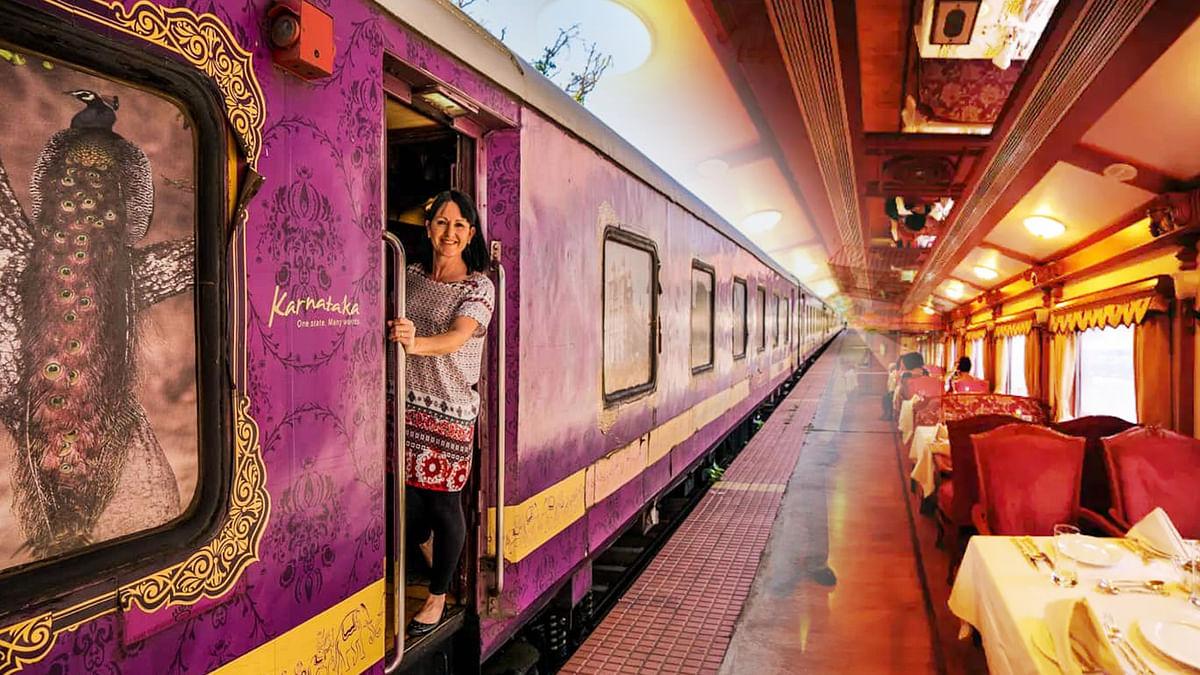 देश में 2021 से शुरू की जाएगी गोल्डन चैरियट लग्जरी ट्रेन