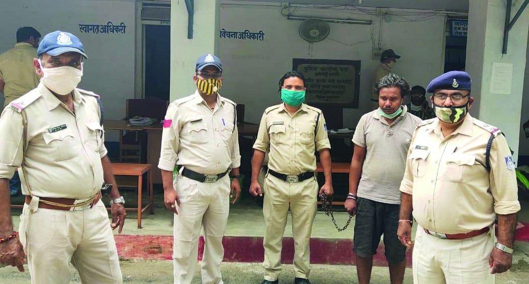 अप्राकृतिक कृत्य का आरोपी 2 घंटे में गिरफ्तार