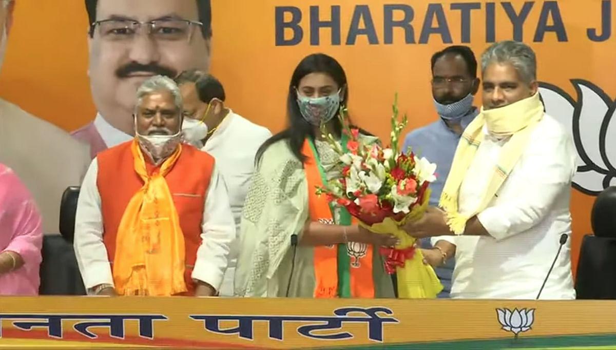 बिहार: नेशनल शूटर श्रेयसी सिंह की राजनीति में एंट्री- BJP की ज्वाइन