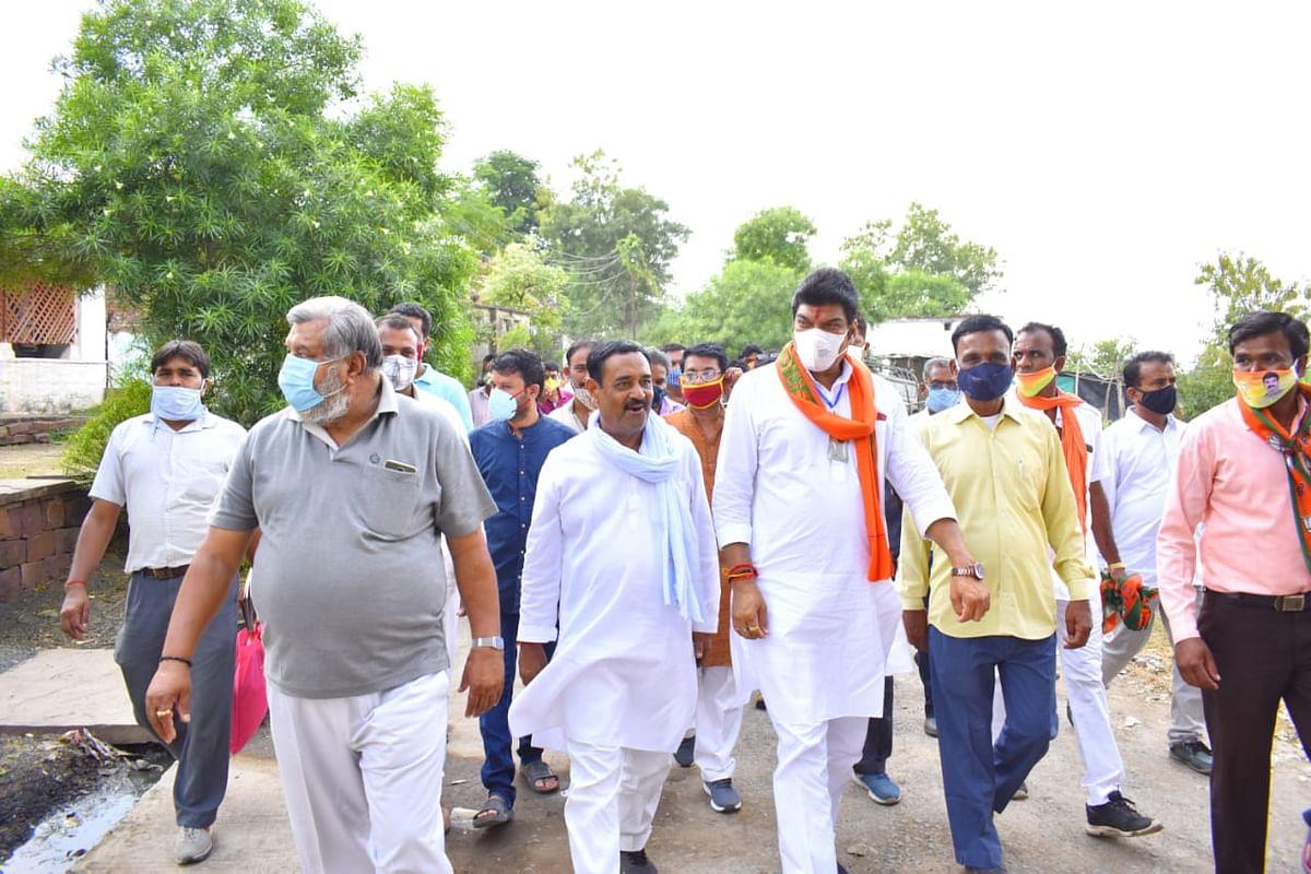 जन-जन को जानकारी है, सिंचाई परियोजनाएं भाजपा के सीएम की देन- मंत्री राजपूत
