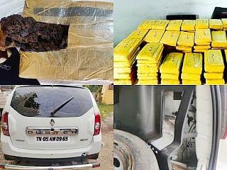 नरसिंहपुर में 6 करोड़ की 117 किलो हशीश बरामद