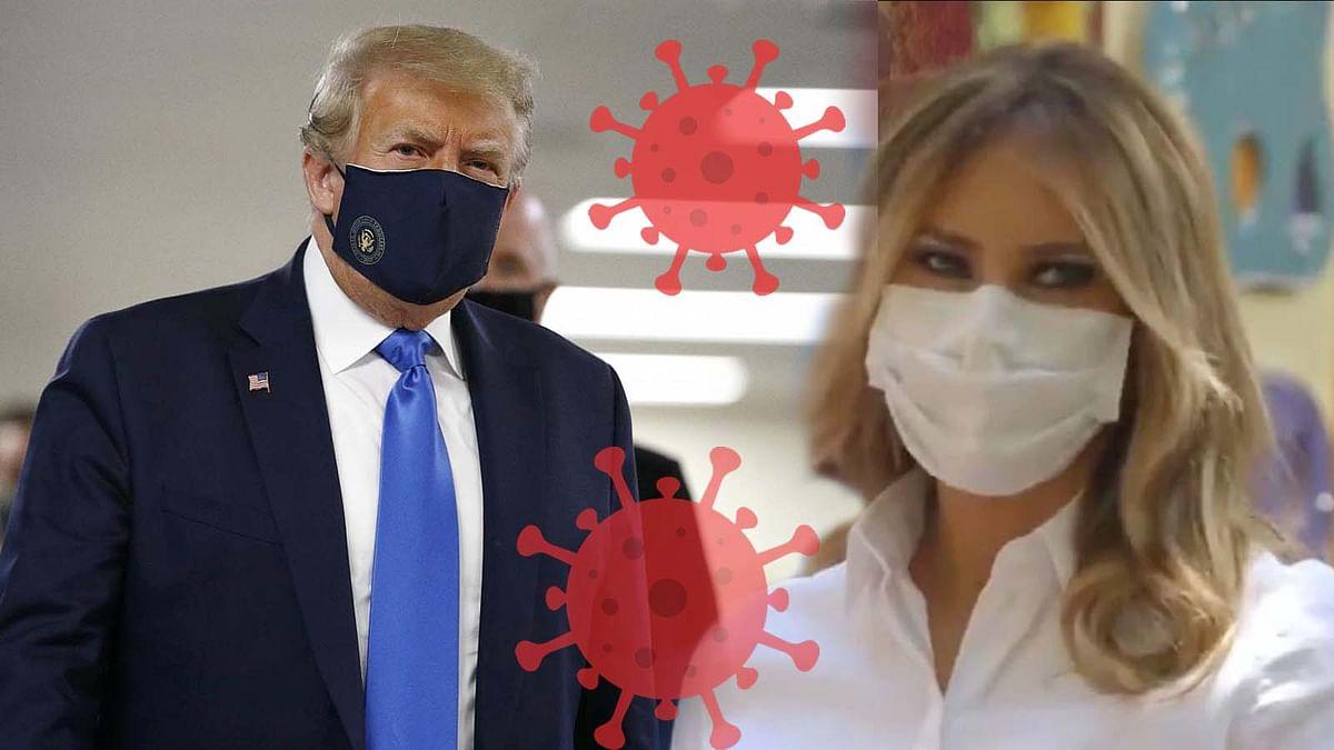 अमेरिका के राष्ट्रपति ट्रम्प और पत्नी मेलानिया कोरोना संक्रमण की शिकार