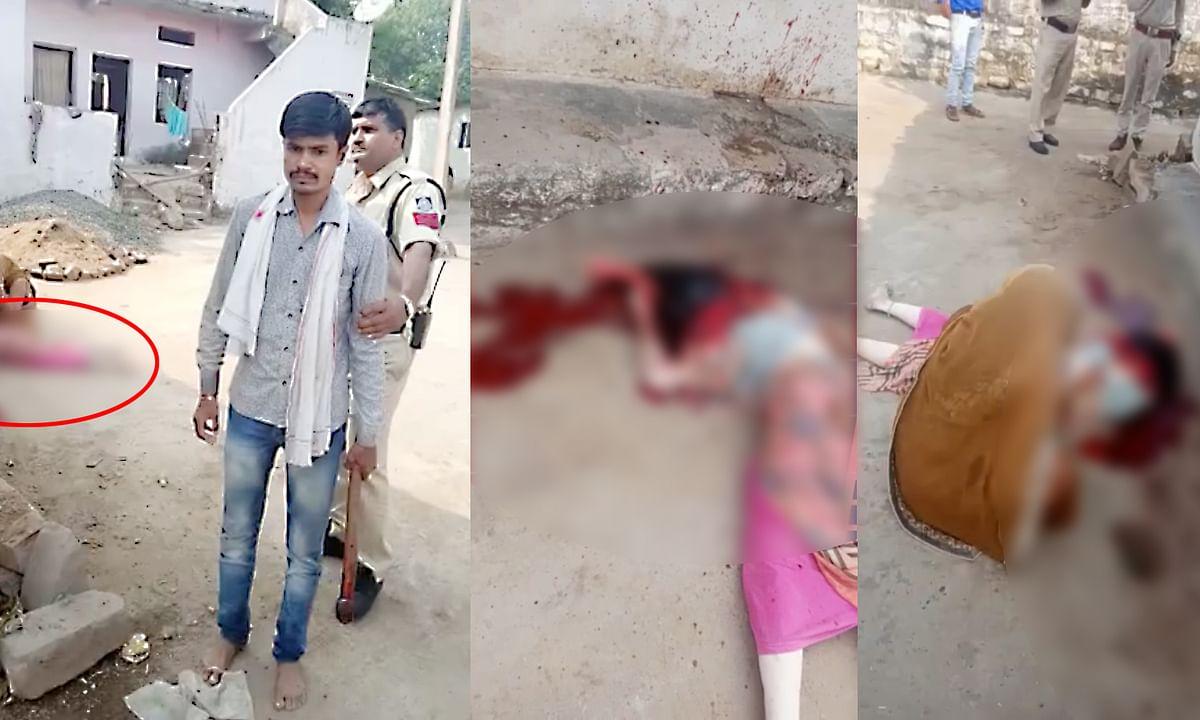 भतीजे ने विधवा ताई की निर्मम हत्या