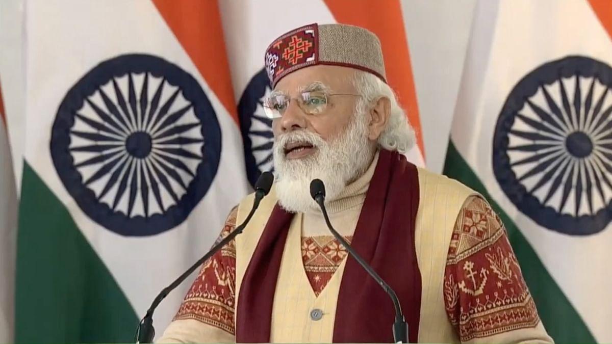 हिमाचल में PM मोदी के पहनावे ने किया ध्यान आकर्षित- भाषण की खास बातें