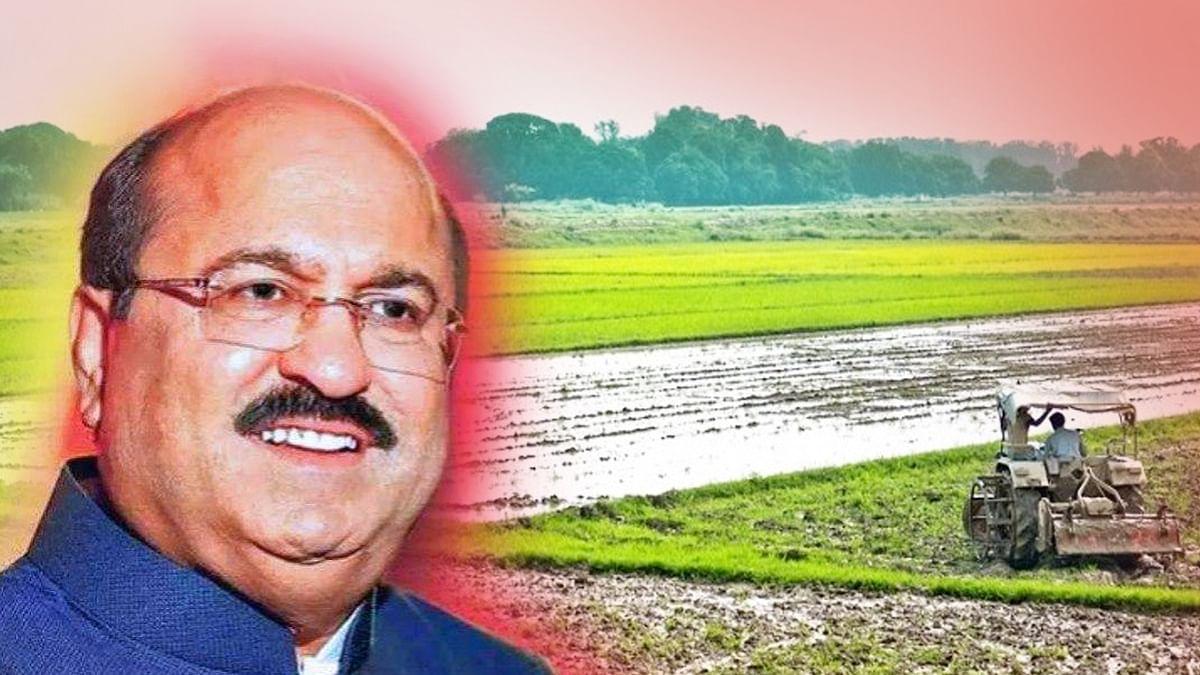 किसान ने गुटखा किंग किशारे के खिलाफ खोला मोर्चा, लगाया जमीन हड़पने का आरोप