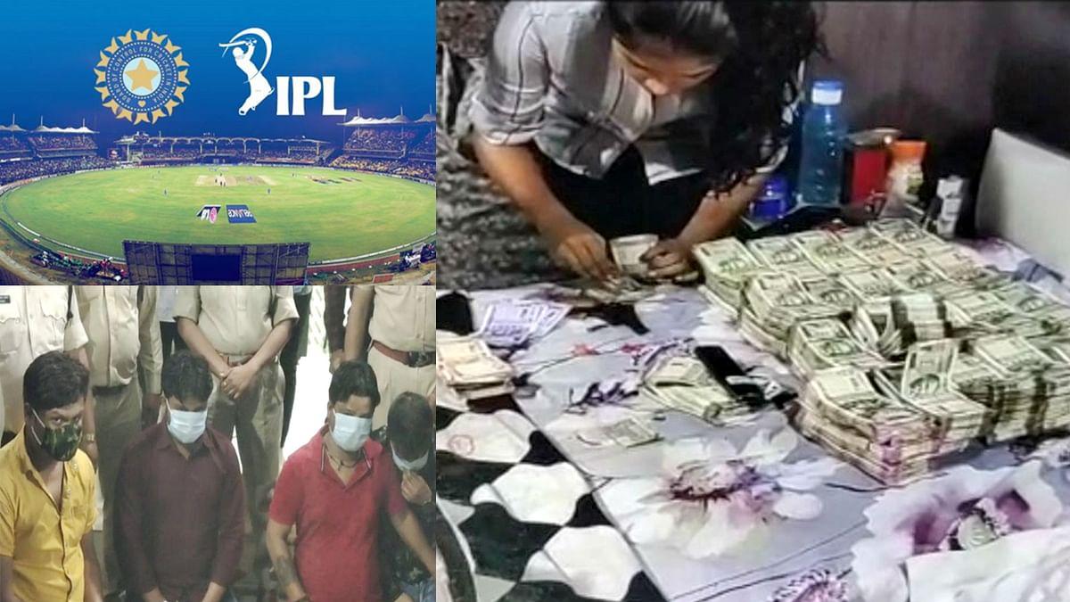 सागर : आईपीएल का सट्टा पकड़ा, कुल 63 लाख रुपए नकद, पिस्टल और रिवाॅल्वर मिली