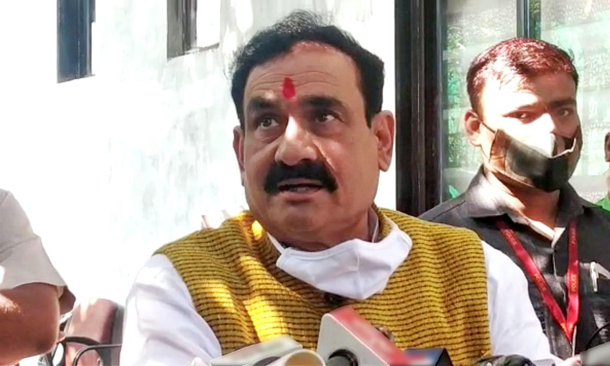 कई मुद्दों पर बोले मंत्री मिश्रा