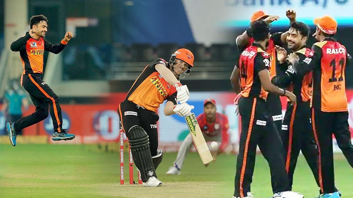 6 मैचों में सनराइजर्स हैदराबाद की तीसरी जीत, किंग्स इलेवन पंजाब की 5वीं हार