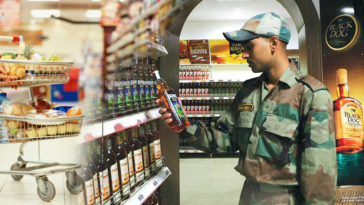 आर्मी कैंटीन्स को लेकर केंद्र सरकार का बड़ा फैसला, नहीं मिलेगी विदेशी शराब