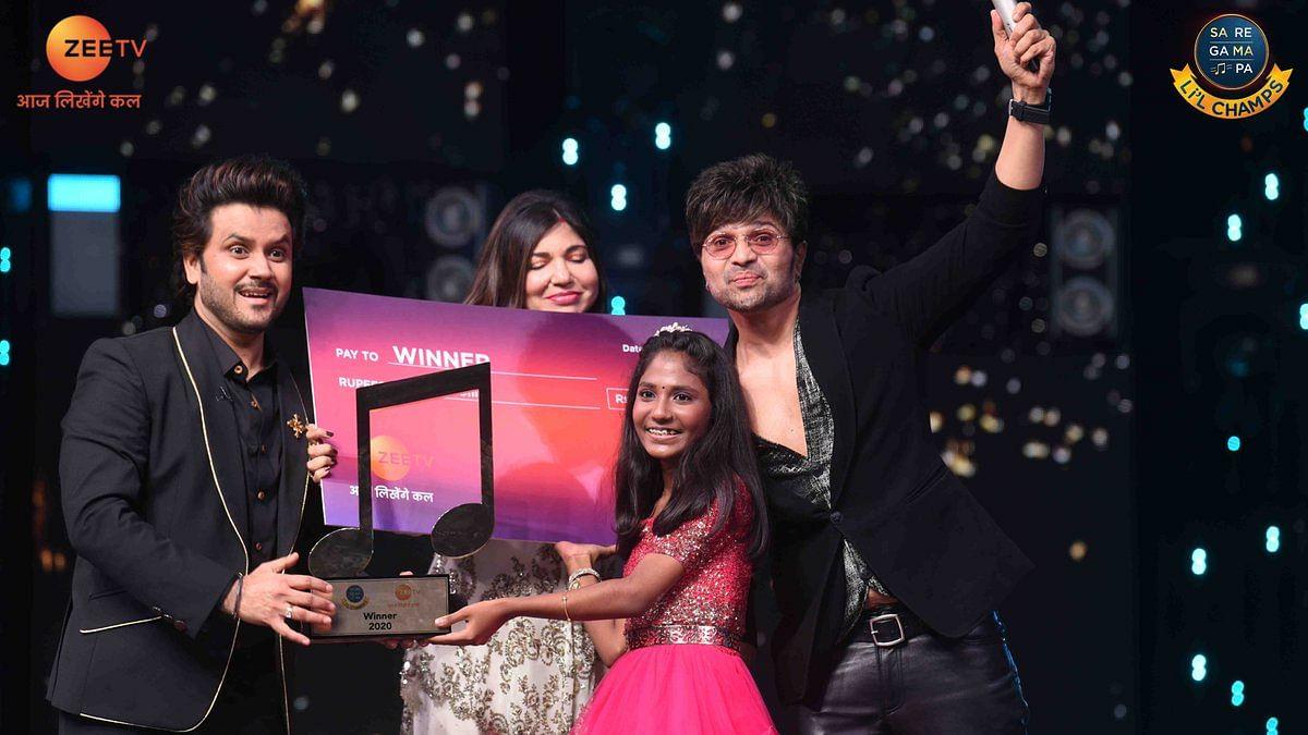 आर्यनंदा बाबू ने जीता 'सा रे गा मा पा लिटिल चैंप्स 2020' का खिताब