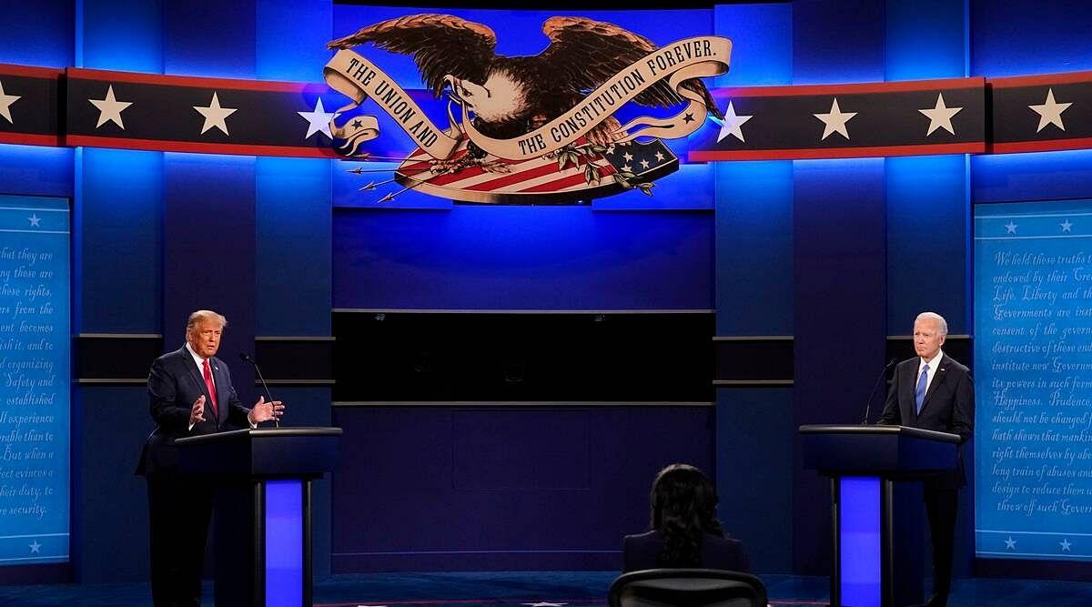 US प्रेसिडेंशियल डिबेट में ट्रम्प-बाइडेन के बीच इन मुद्दों पर हुई तीखी बहस