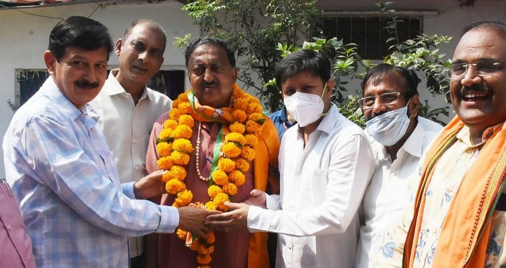 इंदौर : जगमोहन वर्मा भाजपा में लौटे, नामांकन वापस लेंगे
