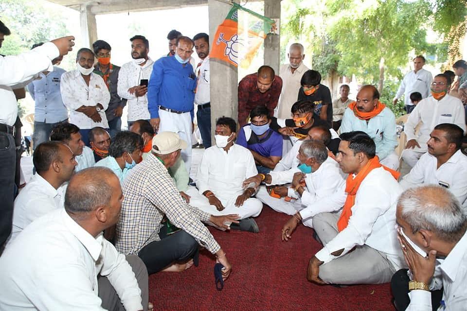 तुलसीराम सिलावट ने शुरू किया जनसंपर्क