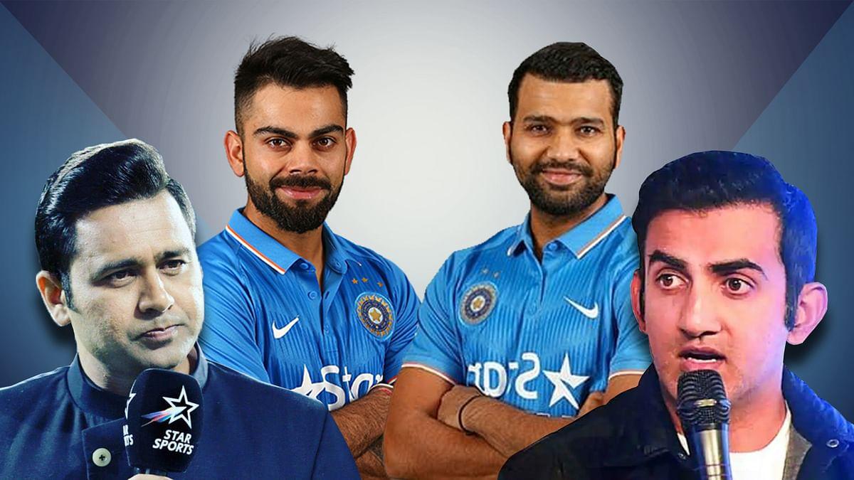 टी-20 में कौन बेहतर कप्तान विराट या रोहित? भिड़े गंभीर और आकाश