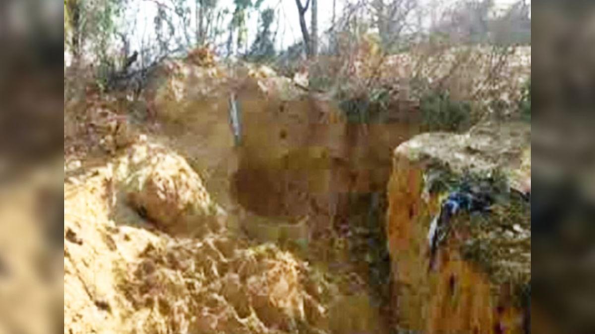 भोपाल : सूखी सेवनिया इलाके में मिट्टी की खदान धंसकने से 4 बच्चों की हुई मौत