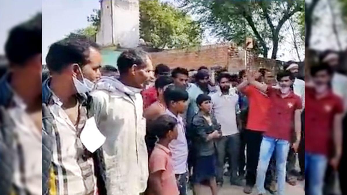 बाँकपुरा में ग्रामीणों ने किया मतदान का बहिष्कार