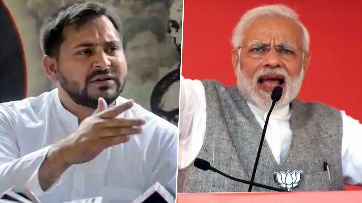 बिहार के चुनावी रण में PM मोदी के उतरने से पहले तेजस्वी ने पूछे ये 11 सवाल