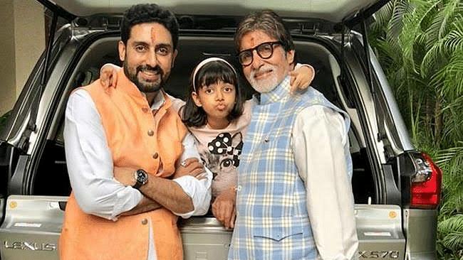 अमिताभ बच्चन ने इस अंदाज में किया आराध्या को बर्थडे विश, शेयर की तस्वीरें