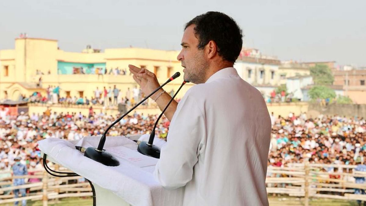 अररिया जनसभा में राहुल का वादा-महागठबंधन की सरकार बनी तो करेंगे ये कार्य...