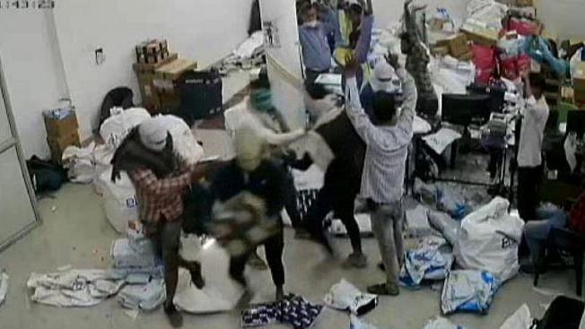 फ्लिपकार्ट गोदाम में पिस्टल के बल पर चोरों ने की लाखों की डकैती
