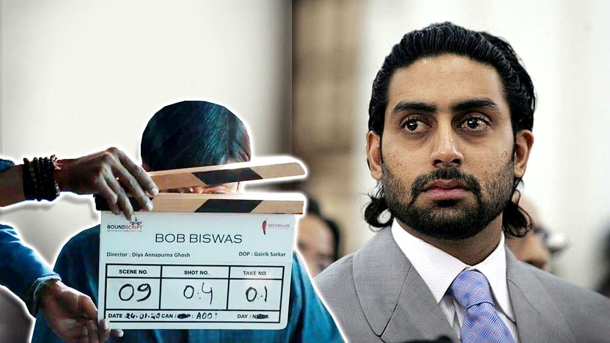 अभिषेक बच्चन ने कोलकाता में शुरु की 'बॉब बिस्वास' की शूटिंग, देखें तस्वीरें